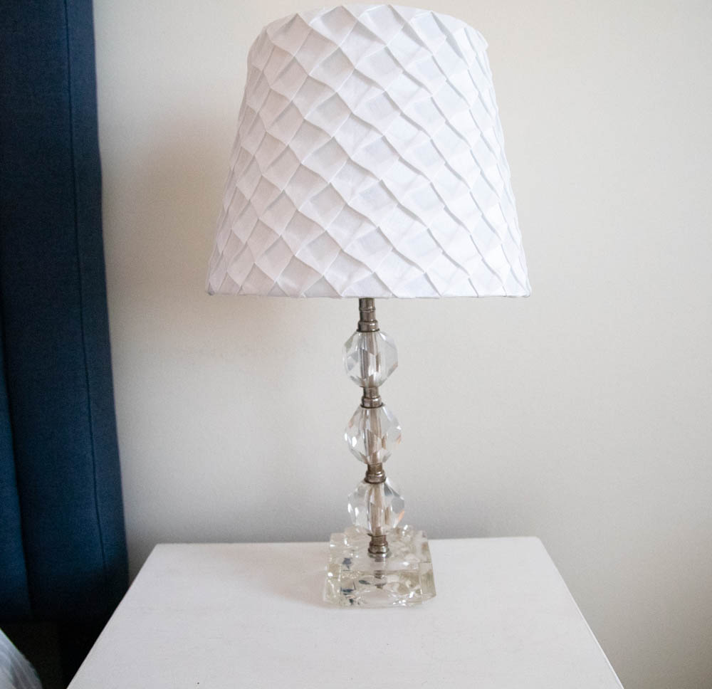Vintage Glass Lamp $10.25